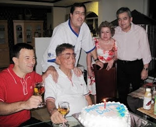 Kenny, Ramon, Cecile and Randy Limjoco with my hubby and dad's son in law, Dave Dewbre in back.