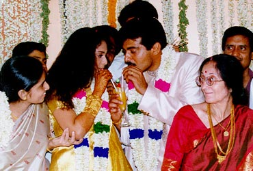 Actor Ajith Shalini Wedding Phots Rare Stills