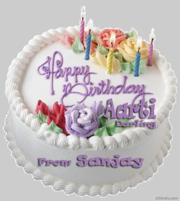 Happybirthdaydarling Happy Birthday Aarti Darling