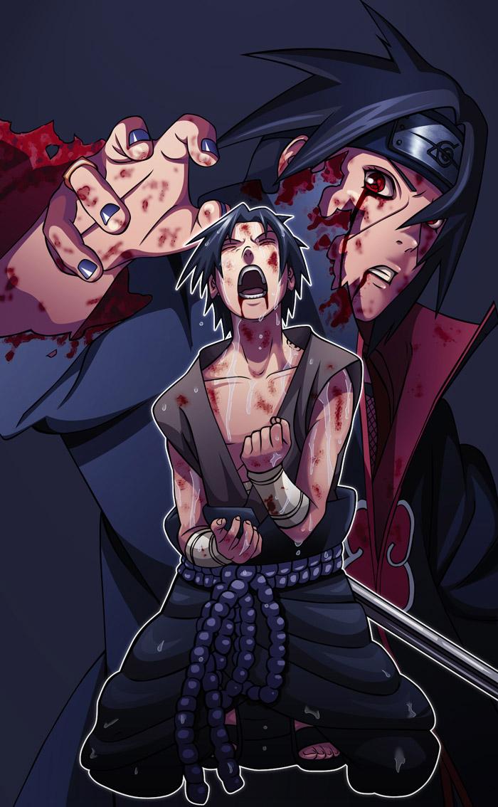 meilleurs images du manga naruto: sasuke vs itachi