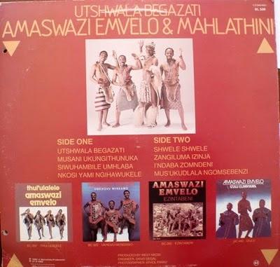 Amaswazi emvelo &; mahlatini - utshwala begazati bl509