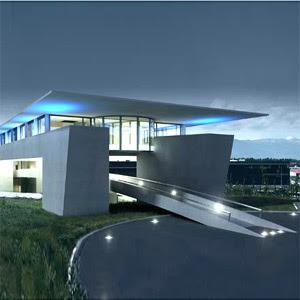 A topic in life architecture futuriste for Plan maison futuriste