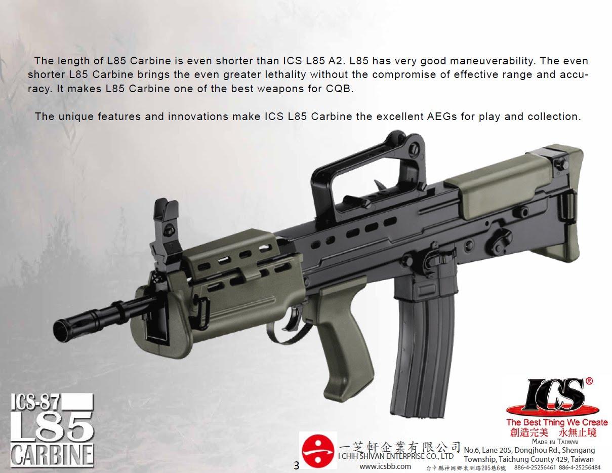 vendo L85 CARBINE ICS L85-4