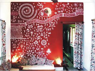 Warli painting: Exotic Indian Art: Method of Warli Paintings