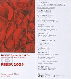 CONCIERTOS FERIA 2009