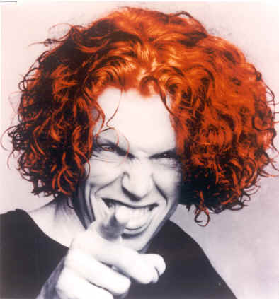 carrot top before. Mike Hutt