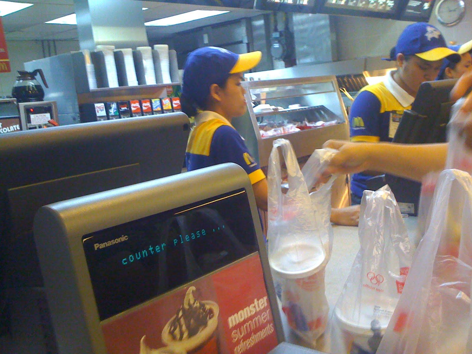cashier mcdonalds cashier