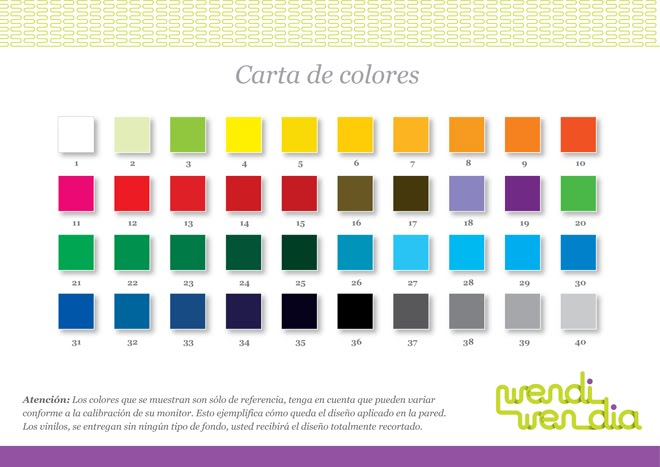 Carta de colores para paredes imagui for Catalogo colores pintura pared