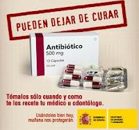 Antibióticos pueden dejar de curar