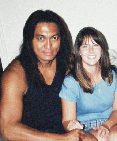 Image: Antonio LaMotta with Nancy LaMotta