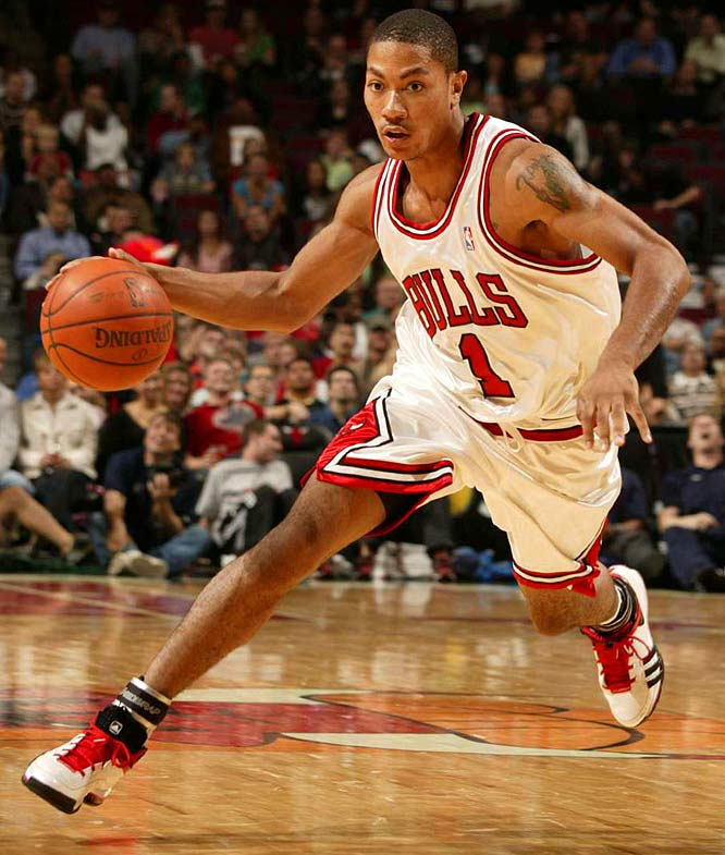 derrick rose dunks on pacers. derrick rose dunking on