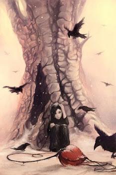 A menina e os corvos