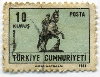 Zonguldak atlı atatürk heykeli 1969