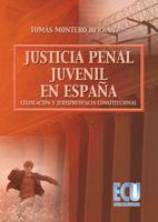 """""""La justicia penal juvenil en España: legislación y jurisprudencia constitucional"""", Tomás Montero"""