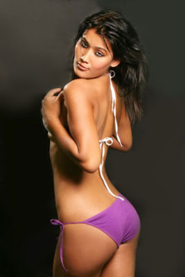 Wallpaper of a bikini model