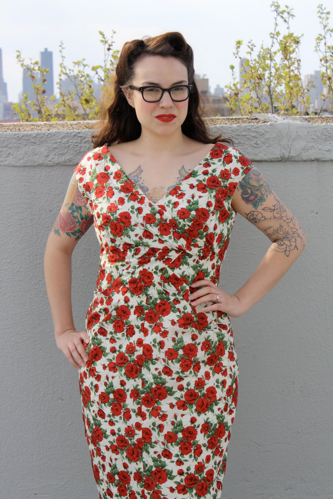 Roses Are Red: The Ceil Chapman Tribute Dress
