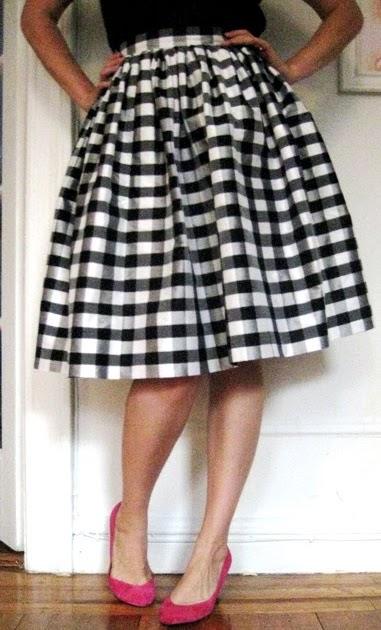 Gertie's New Blog For Better Sewing Sew A Full Gathered Skirt Extraordinary Full Skirt Pattern