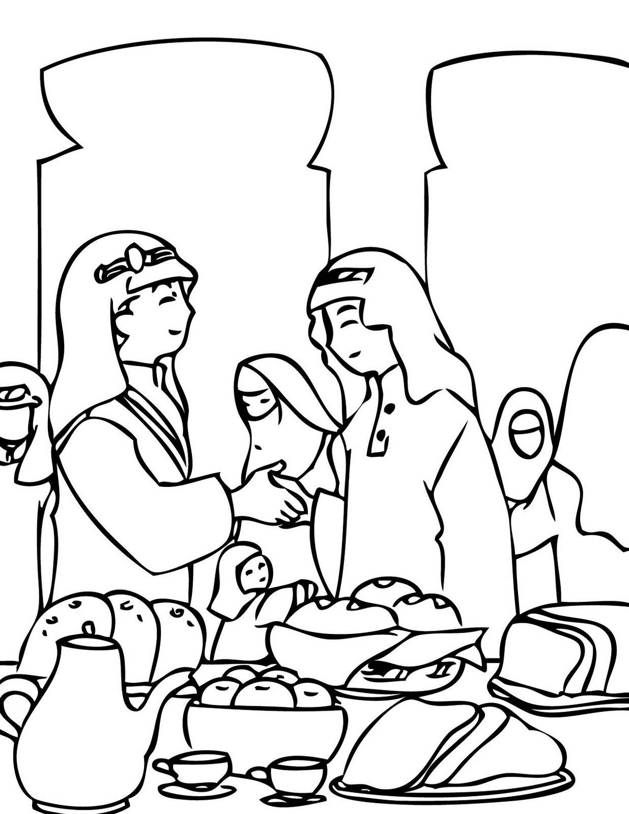 muslim holidays coloring pages - photo#4