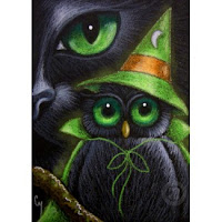 Black Halloween Cards