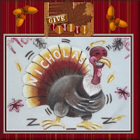 Hand Painted Thanksgiving Greetings