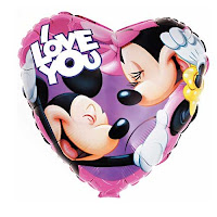 Mickey and Minnie I Love You