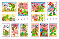 Franklin Sticker For Valentines Day