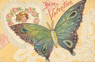Handmade Butterfly Valentine Cards