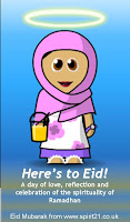funny kids eid cards