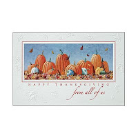 Recycled Thanksgiving Cards