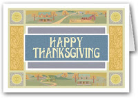 Recycled Thanksgiving Cards for Charity