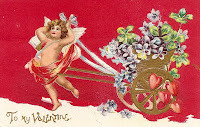 Valentines Day Cupid Card