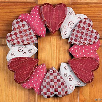 animated valentine wreath