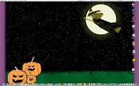 black color halloween wallpaper