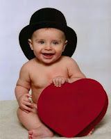 Valentine Baby Greeting Cards