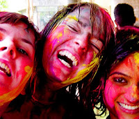 2010 holi celebration cards
