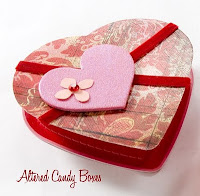 Valentine Candy Greeting Cards