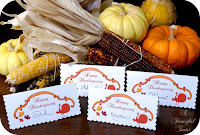 thanksgiving dinner table name card