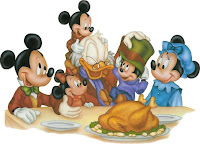 Disney Thanksgiving Cards