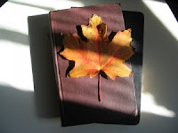 thanksgiving fallen leaves cards