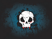 free vector skull wallpaper