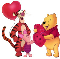 Winnie The Pooh Valentine Greetings