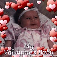 valentine baby greetings