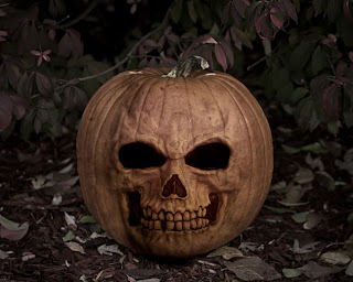 skeleton face pumpkin backgrounds