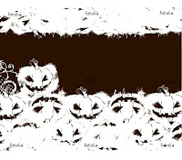 black white halloween pumpkin wallpaper