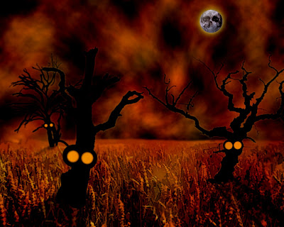 Creepy Halloween Wallpaper