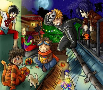 Halloween Party Wallpaper