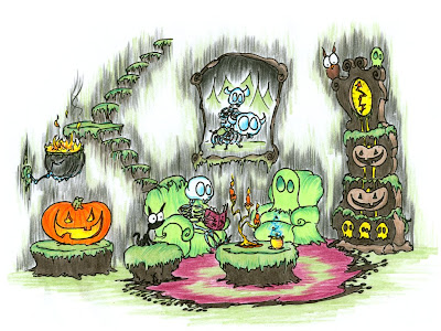 Halloween Ghost Greeting Cards, Stories and Ecards