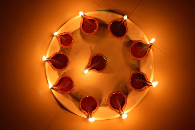 Diwali Decoration Diyas