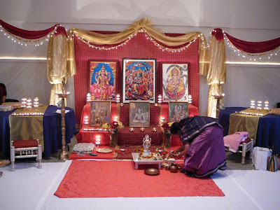 Diwali Pooja Ghar Decorations