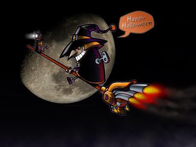 Online Halloween Screensaver